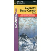 Everest Base Camp - Travel Maps International Adventure Map (National Geographic Maps)(Sheet map, folded) (9781566955195)