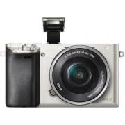 Digitalni fotoaparat Sony Alpha 6000 + objektiv 16-50mm, srebrni