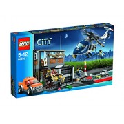 Lego City Helicopter Arrest Building Set