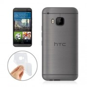HTC One M9 - hoes, cover, case - TPU - Ultra dun - Transparant