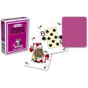 Modiano pokerové karty mini 4 rohy - fialová
