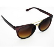 VOGARD Cat-eye, Wayfarer Sunglasses(Brown)