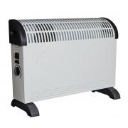 Конвектор с вентилатор SAPIR SP 1974 BT, 2000W, 3 степени, Автоматично изключване, Дръжки, Бял