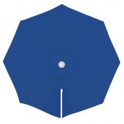 Paramondo Toile de parasol ronde 3,5 m, Parapenda, Bleu