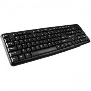 Клавиатура CANYON Keyboard CNE-CKEY01 (Wired USB, 104 keys, Black), Bulgarian, CNE-CKEY01-BG