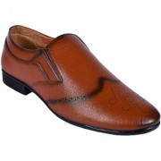 BB LAA Tan Men's Slip-on Shoes