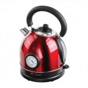 Bouilloire rétro avec thermomètre rouge DOD157 Livoo