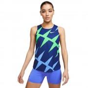 Nike Aeroswift Singlet CZ1032492 runing toute l'année t-shirt femme marine/bleu/vert S