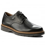 Обувки CLARKS - Newkirk Go Gtx GORE-TEX 261218877 Black Leather