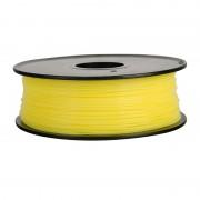 Filament pentru Imprimanta 3D 1.75 mm PLA 1 kg - Galben Transparent