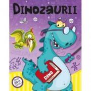 Dinozaurii. Peste 500 abtibilduri. Lipim si coloram