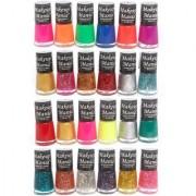 Makeup Mania Exclusive Nail Polish Set Of 24 Pcs (Multicolor Set # 71-74)