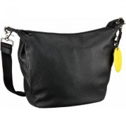 Mandarina Duck Umhängetasche Mellow Leather Crossbody Black (innen: Schwarz)