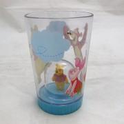 Micimackós pohár figurával - műanyag