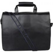 P&Y Fashion 12 inch Laptop Messenger Bag(Black)