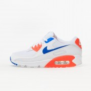 Nike W Air Max 90 White/ Racer Blue-Flash Crimson