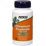 Хром Пиколинат - Chromium Picolinate - 100 капсули - NOW FOODS, NF1420