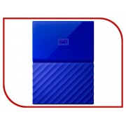 Жесткий диск Western Digital My Passport 1Tb Blue WDBBEX0010BBL-EEUE