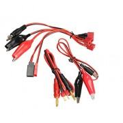 Generic Tamiya Plug : IMAX B6 B6AC/B8 Balance Chargers Cable 2S-6S Battery Balance Charger Cable Alligator Clips T Plug / Tamiya Plug