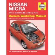 Haynes Workshop manual Nissan Micra (2003-Oct 2010) 4734