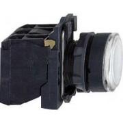 Buton iluminat alb - Butoane si lampi din plastic Ø22 - Harmony xb5 - XB5AW31B5 - Schneider Electric