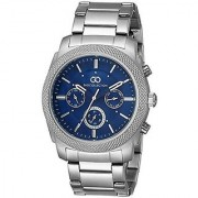 Gio Collection Analog Blue Dial Mens Watch - G1013-11