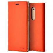 Capa Fina com Aba CP-302 para Nokia 5 - Cobre