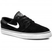 Pantofi NIKE - Stefan Janoski (GS) 525104 021 Black/White/Gum Med Brown