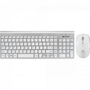 Kit Teclado + Mouse sem Fio K-W510SWH C3TECH