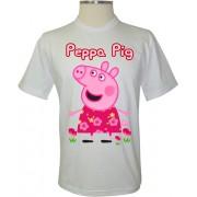 Camiseta Peppa Pig no Jardim - Coleção Peppa Pig