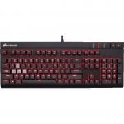 Tastatura gaming Corsair STRAFE Cherry MX Blue Mechanical US