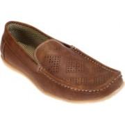Kolapuri Center Loafers For Men(Tan)