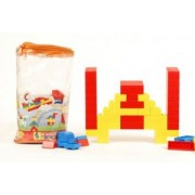 Peacock Kinder Blocks PVC Bag (100 Piece)