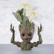 Zesta Groot Pen Stand Cum Flower Pot Plant Marvel Infinity war Tree Man