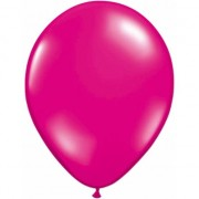 Geen Magenta ballonnen 50 stuks