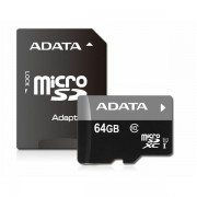 Memorijska kartica Adata SD MICRO 64GB HC Class10 UHS AUSDX64GUICL10-RA1