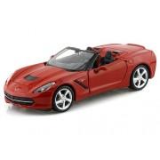 Maisto 2014 Chevrolet Corvette Stingray Convertible, Red - 31501 1/24 Scale diecast Model car