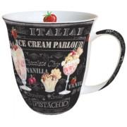 AMB.18408955 Ice Creme Black porcelán bögre 0,4l