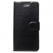 HTC U11 Classic Wallet Case - Black