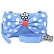 Micky Maus Loungefly - Minni Handtasche-blau weiß rot - Offizieller & Lizenzierter Fanartikel Onesize Damen