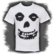 tricou stil metal bărbați Misfits - All Over Skull - PLASTIC HEAD - PH5864