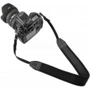 Onloon Correa Recto Para El Cuello Elástico De La Cámara SLR DSLR (negro)para Canon Nikon