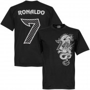 Retake Ronaldo No.7 Dragon KIDS T-shirt - schwarz - 6 Years