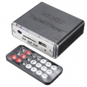 12 V Draagbare Eindversterker MP3 SD USB Audio Player Reader 3-Electronic Keypad Controle met Afstandsbediening