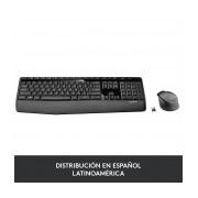 Kit de Teclado y Mouse Logitech MK345, Inalámbrico, Negro