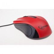 Gembird Mysz OPTO 1-SCROLL USB (MUS-101-R) Black/Red + EKSPRESOWA DOSTAWA W 24H