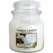 Yankee Candle Shea Butter vela perfumado 411 g Classic médio