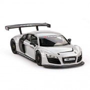 Rastar 1:24 Diecast Audi R8 LMS with Opening Doors and Detailed Interior and Exterior, Grey, TOYSHINE - 57