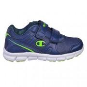 Pantofi sport cu arici copii Champion Low Cut Shoe COMBO PU B albastru 30