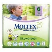 Scutece Eco XL pentru Copii 16-30kg Nr.6 Moltex 22buc